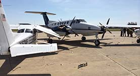 Runaway King Air