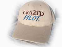 Crazed Pilot Cap