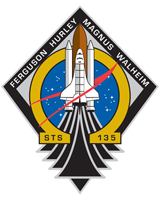 STS-135 Mission Patch