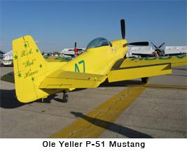 Ole Yeller P-51 Mustang