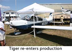 Tiger returns to production